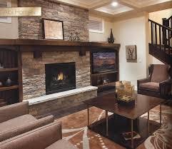 modern stone fireplace surround u2014 farmhouses