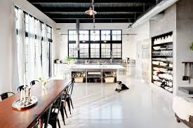 open floor plans with loft open floor plan dining room kitchen industrial loft cococozy nyt