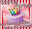 Frases de cumpleaños para una sobrina ~ Frases de cumpleaños