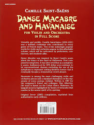 A Poem About Halloween Amazon Com Danse Macabre And Havanaise For Violin And Orchestra