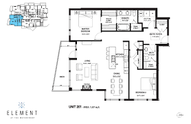 floor plan designs element at the waterfront floor plans u2013 vancouver island
