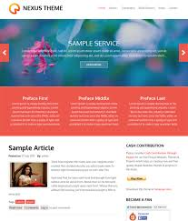 this free drupal business theme offers a responsive layout a flat