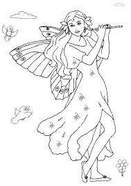 free fairy coloring pages u2013 corresponsables co