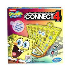 spongebob squarepants connect 4 game