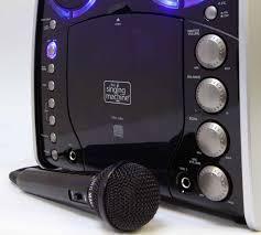singing machine sml 383 portable cd g karaoke player and 3 cdgs
