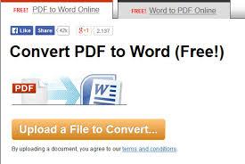 Word To Pdf 6 Free Pdf To Word Converters