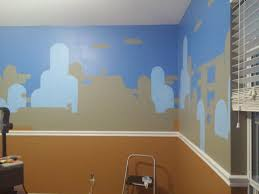 made a super mario brothers nursery album on imgur then i painted the lighter blue