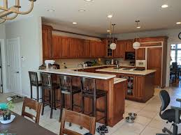 oak kitchen cabinet finishes how to update a kitchen with wood cabinets without painting