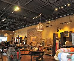exposed ceiling retail space lizard thicket atlanta exposed