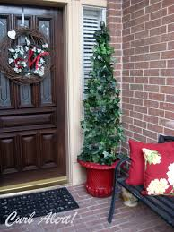 Christmas Topiaries Curb Alert Tomato Cage Topiaries