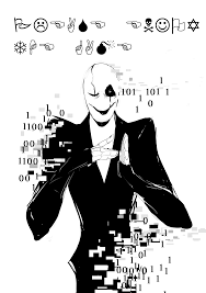 gaster the who speaks in w d gaster by queensdaughters on deviantart