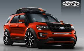Ford Explorer Exhaust - sema to show 4 special ford explorer builds ford authority