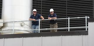 Handrail Requirements Osha Roof Railing Osha Compliant U0026 Non Penetrating Guardrail Fall