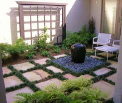landscape fountain design ideas with small jug for space amys office