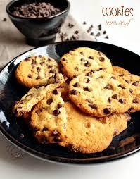 recette de cuisine sans oeuf cookies sans oeufs il était une fois la pâtisserie