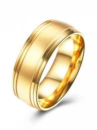golden gold rings images Alloy finger circle ring golden jewelry 7 zaful jpg