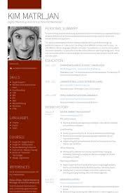 Marketing Assistant Resume Samples   VisualCV Resume Samples Database VisualCV Digital Marketing Assistant Resume Samples