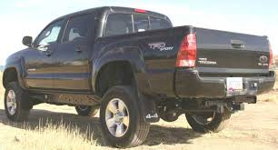 2007 toyota tacoma rear bumper bumper dented bed replacement ideas options anyone tried this
