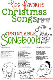 free printable christmas song lyric games interesting childrens christmas songs for church 2 creative come to
