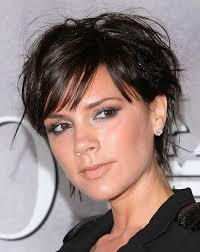short hairstyles for round faces curly hair short haircuts for