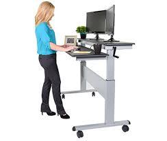 gorgeous office furniture standing desk adjustable benefits office