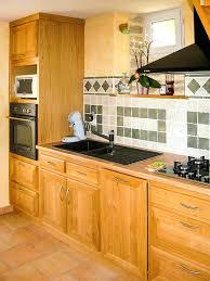 plan de travail cuisine chene massif facade cuisine chene cuisine chene massif vernis naturel plan de