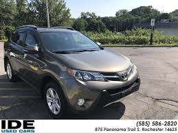 Pre Owned 2014 Toyota Rav4 Xle Sport Utility In 875 Panorama Trail