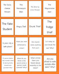 esl thanksgiving story speaking game for esl adults strange crimes mrs baia u0027s