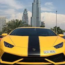 lamborghini car dubai luxury car rental dubai lamborghini huracan yellow black