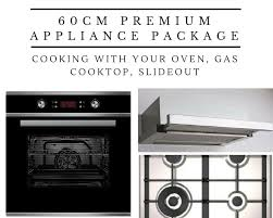 Cooktops On Sale 60cm Premium Appliance Package With Gas Cooktop Save Today On