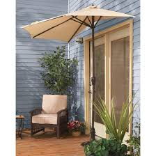 patio small patio umbrellas green octagon modern fabric small