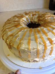 sweet potato pound cake with sweet potato butter cream frosting