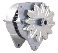 amazon com new alternator fits ford 86 98 tractor 7710 345c 345d