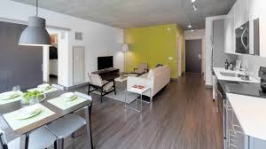 chicago 1 bedroom apartments a loop 1 bedroom model at the bold new linea apartments youtube