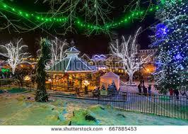 leavenworth wa light festival leavenworth wa december 10th 2016 christmas stock photo 667885453