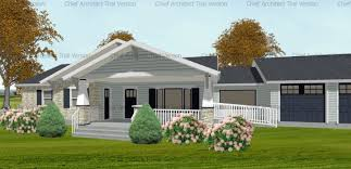 ranch style front porch two front porch options revisited actual cad drawings from a real