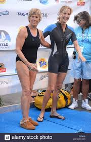 new york ny usa 8th oct 2013 diana nyad lara spencer in