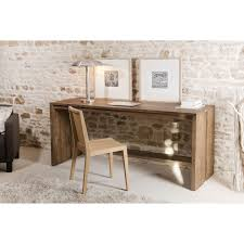 bureau bois bois teck 180x60 tinesixe