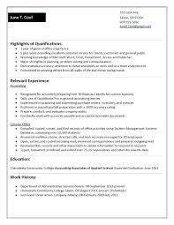 works well with others resume 3 qualification i punctual fast
