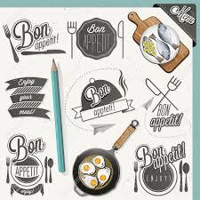 Bon Appetit Kitchen Collection 859 Bon Appetit Stock Vector Illustration And Royalty Free Bon