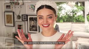 wedding dress miranda kerr miranda kerr s wedding dress fitting is the stuff of