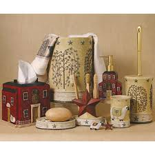 Country Bathroom Decor Country Bathroom Decor Sets Decorating Clear