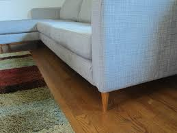 Grey Laminate Flooring Ikea Ikea Karlstad Couch Hack My Mid Century Modest Ranch Make Over