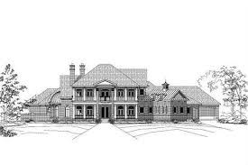 luxury colonial house plans colonial floor plan 5 bedrms 5 5 baths 7261 sq ft 156 1515