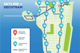 Miami Beach Bus Map Mayoral Candidate Pitches Aerial Gondolas To Cross The Bay