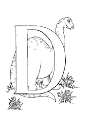dinosaurs coloring printable alphabet coloring pages d for dino