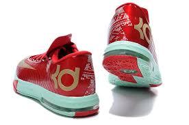 kd 6 christmas cheap men s nike kevin durant kd 6 christmas basketball shoes
