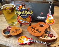 rock rocksino northfield park axe heaven miniature guitars