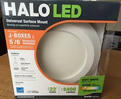 halo 6 inch recessed lighting qty 2 halo 6 in sld606830whr led recessed white surface disk light