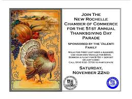 new rochelle s 51st annual valenti thanksgiving day parade set for